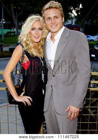 Heidi Montag and Spencer Pratt attend the LG Electronics' (LG) Launch of the