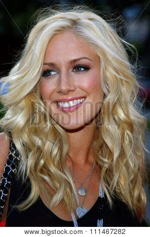 Heidi Montag attends the LG Electronics' (LG) Launch of the