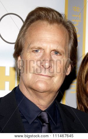Jeff Daniels at the Los Angeles premiere of HBO's 'The Newsroom' Season 3 held at the DGA Theatre in Los Angeles on November 4, 2014.