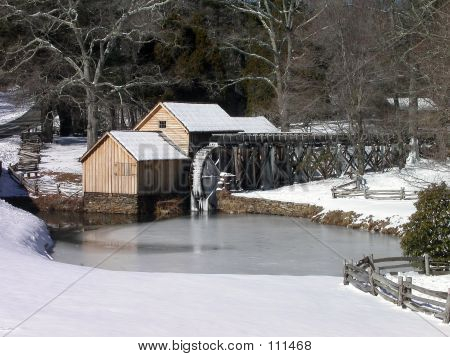 Mabry's Mill Winter