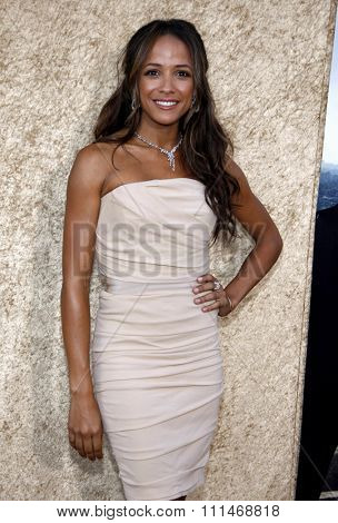 Dania Ramirez at the HBO's 'Entourage' Season 7 Premiere held at the Paramount Studios lot in Hollywood on June 16, 2010.