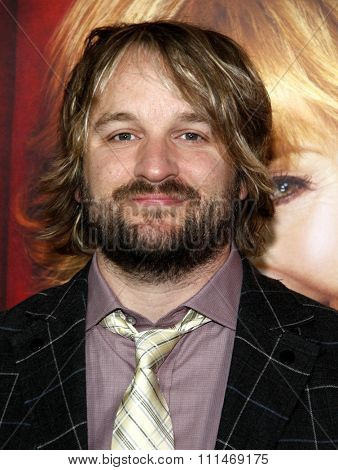 Lenny Jacobson at the Los Angeles premiere of HBO's 'The Comeback' held at the El Capitan Theatre in Los Angeles on November 5, 2014.