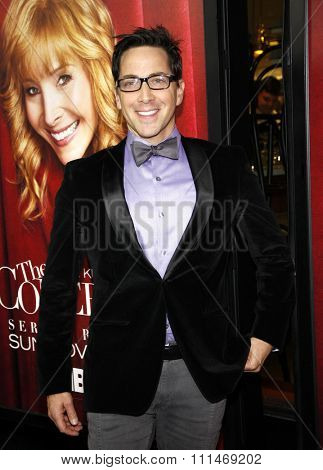 Dan Bucatinsky at the Los Angeles premiere of HBO's 'The Comeback' held at the El Capitan Theatre in Los Angeles on November 5, 2014.