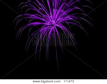 Fireworks - Purple Mountains Majesty