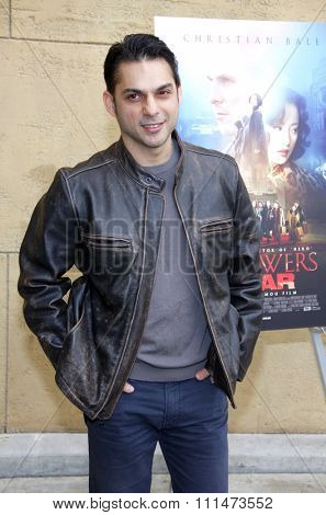 Peyman Moaadi at the American Cinematheque's 69th Annual Golden Globe Awards Foreign-Language Nominee Event held at the Egyptian Theater on January 15, 2012.