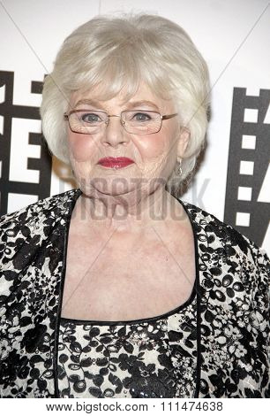 June Squibb at the 64th Annual ACE Eddie Awards held at the Beverly Hilton Hotel in Los Angeles, United States, 070214.