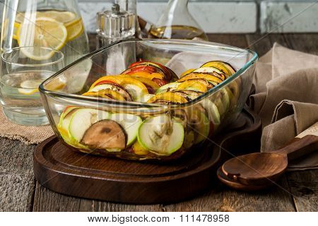 Ratatouille - Traditional French Provencal Vegetable Dish