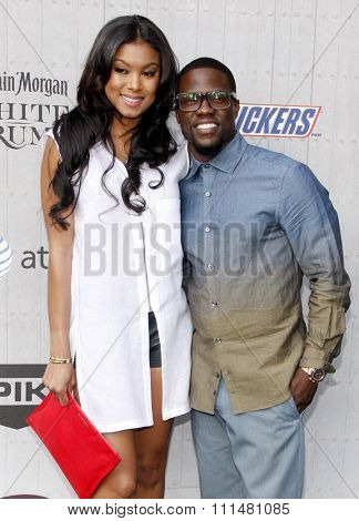 Eniko Parrish and Kevin Hart at the Spike TV's