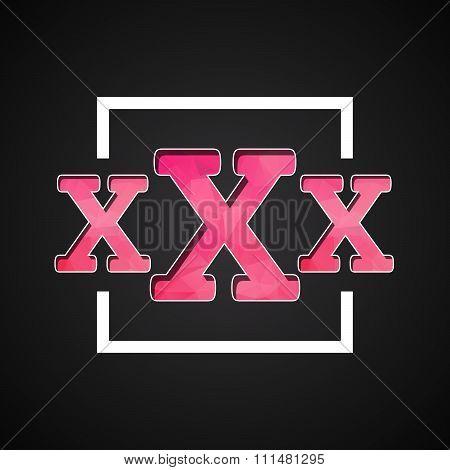 Xxx Logo Icon
