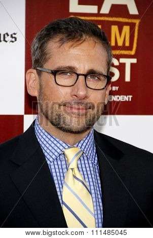 Steve Carell at the 2012 LA Film Fest Premiere of' Seeking A Friend For The End Of The World' held at the Regal Cinemas L.A. Live in Los Angeles on June 18, 2012.