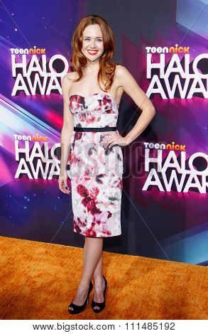 Haley Strode at the  2012 Halo Awards held at the Hollywood Palladium in Hollywood on November 17, 2012.