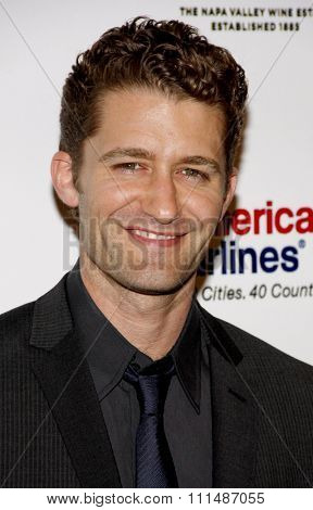 Matthew Morrison at the 2011 Taste For A Cure held at the Beverly Wilshire Hotel in Los Angeles on April 15, 2011.