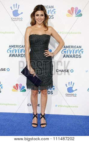 Jamie-Lynn Sigler at the 2012 American Giving Awards held at the Pasadena Civic Auditorium in Pasadena on Decmber 7, 2012.