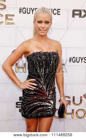 Kendra Wilkinson at the 2012 Spike TV's Guys Choice Awards held at the Sony Studios in Culver City on June 2, 2012.