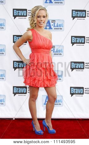 Kendra Wilkinson at the 2009 Bravo's A-List Awards held at the Orpheum Theatre in Los Angeles on April 5, 2009.