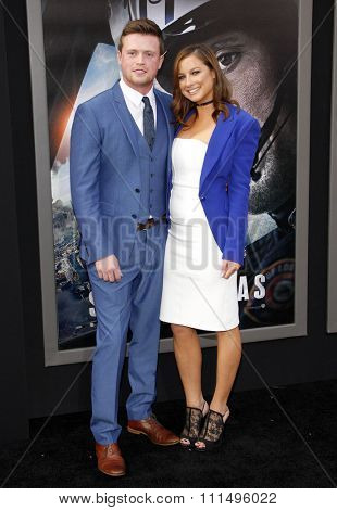 Hugo Johnstone-Burt at the Los Angeles premiere of 'San Andreas' held at the TCL Chinese Theatre IMAX in Hollywood, USA on May 26, 2015.