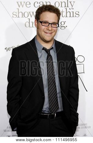 Seth Rogen at the Los Angeles premiere of 'Zack And Miri Make A Porno' held at the Grauman's Chinese Theater in Hollywood, California, USA on October 20, 2008.