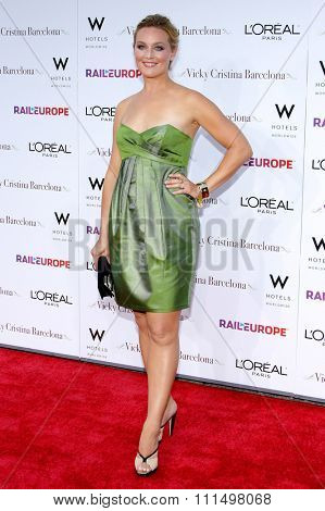 Elisabeth Rohm at the Los Angeles premiere of 'Vicky Cristina Barcelona' held at the Mann Village Theatre in Westwood on August 4, 2008.