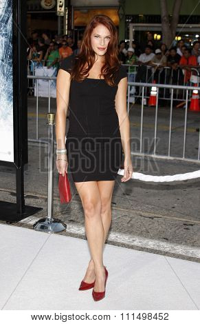 Amanda Righetti at the Los Angeles premiere of 'Whiteout
