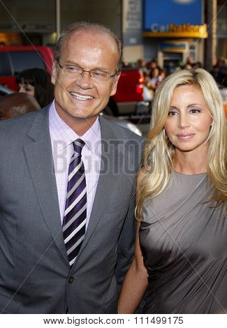 Kelsey Grammer and Camille Grammer at the Los Angeles premiere of 'X-Men Origins: Wolverine' held at the Grauman's Chinese Theatre in Hollywood on April 28, 2009.
