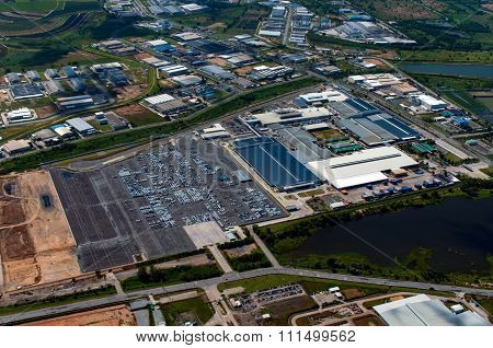 Industrial Estate, Rayong Thailand