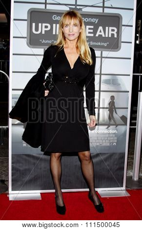 Rebecca De Mornay at the Los Angeles premiere of 'Up In The Air' held at the Mann Village Theatre in Westwood on November 30, 2009.
