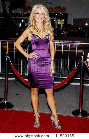 Gretchen Rossi at the Los Angeles premiere of 'Unstoppable' held at the Regency Village Theatre in Westwood on October 26, 2010.