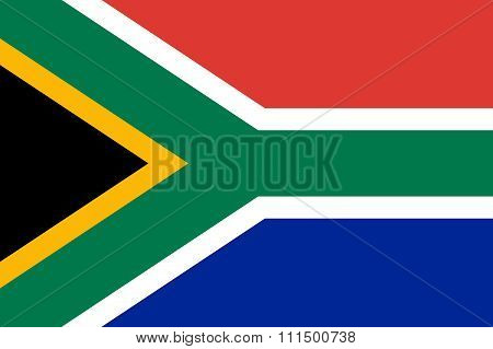 South Africa Flag Illustration Of Country