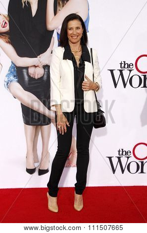 Mimi Rogers at the Los Angeles premiere of