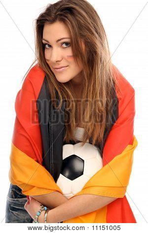 sexy football fan