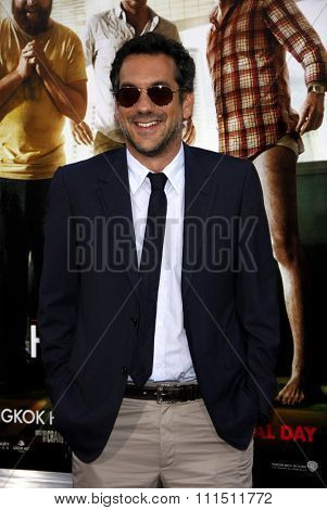 Todd Phillips at the Los Angeles premiere of 'The Hangover Part II' held at the Grauman's Chinese Theatre in Hollywood on May 19, 2011.