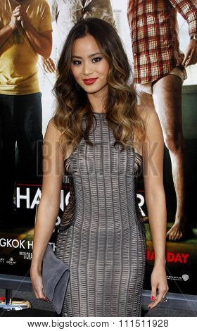 Jamie Chung at the Los Angeles premiere of 'The Hangover Part II' held at the Grauman's Chinese Theatre in Hollywood on May 19, 2011.