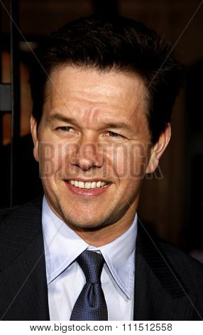 Mark Wahlberg at the Los Angeles premiere of 'The Fighter' held at the Grauman's Chinese Theatre in Hollywood on December 6, 2010.
