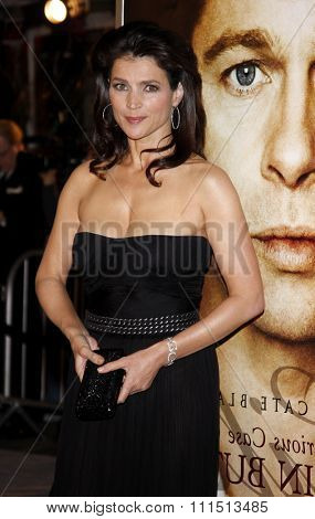 Julia Ormond at the Los Angeles premiere of 'The Curious Case Of Benjamin Button' held at the Mann's Village Theater  in Westwood on December 8, 2008.