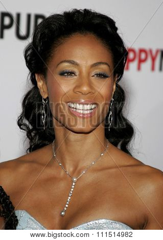 December 7, 2006. Jada Pinkett-Smith attends the Los Angeles Premiere of