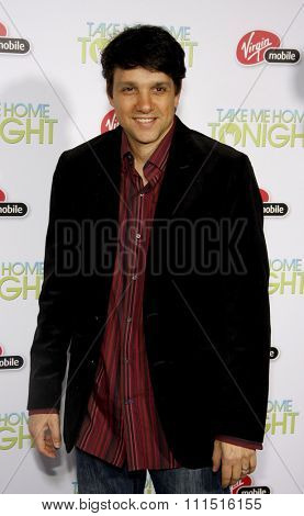Ralph Macchio at the Los Angeles premiere of 'Take Me Home Tonight' held at the Regal LA Live Stadium 14 in Los Angeles on March 2, 2011.