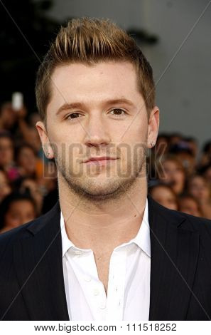 Travis Wall at the Los Angeles premiere of 'Step Up Revolution' held at the Grauman's Chinese Theatre in Hollywood on July 17, 2012.