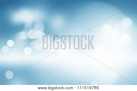 light blue bokeh background blurred sky design cloudy white paint with blue blurry border fresh spri