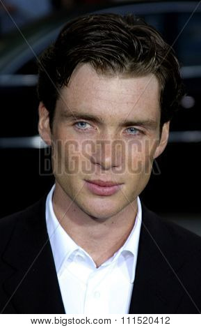 Cillian Murphy at the Los Angeles premiere of