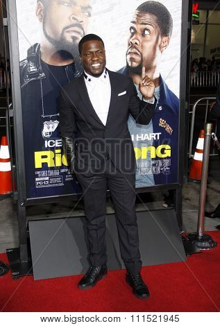 Kevin Hart at the Los Angeles premiere of