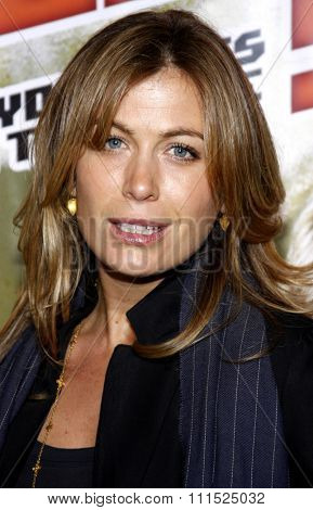 Sonya Walger at the Los Angeles premiere of 'Nobel Son' held at the Egyptian Theatre in Hollywood on December 2, 2008.