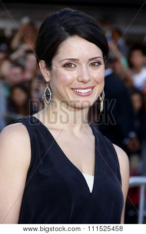 Ali Cobrin at the Los Angeles premiere of