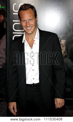 Patrick Wilson at the Los Angeles premiere of