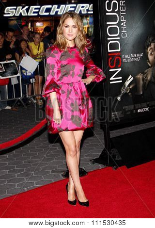 Rose Byrne at the Los Angeles premiere of