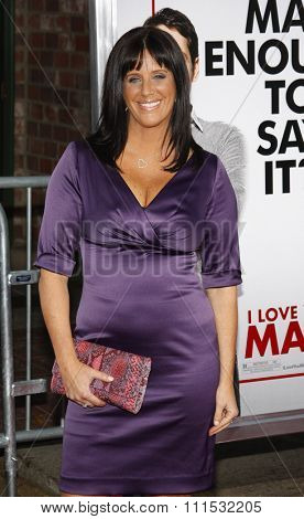 Patti Stanger at the Los Angeles premiere of 'I Love You, Man' held at the Mann's Village Theater in Westwood on March 17, 2009.