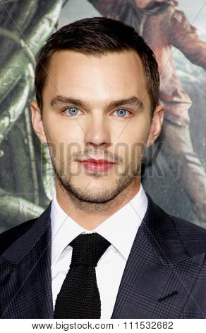 Nicholas Hoult at the Los Angeles premiere of