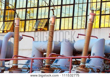 Equipment for production of electricity.