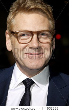 Kenneth Branagh at the Los Angeles premiere of