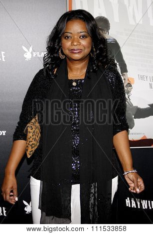 Octavia Spencer at the Los Angeles premiere of 'Haywire' held at the DGA Theater in Hollywood on January 5, 2012.