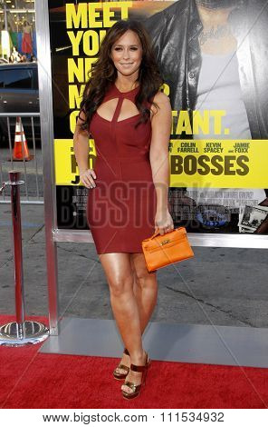 Jennifer Love Hewitt at the Los Angeles premiere of 'Horrible Bosses' held at the Grauman's Chinese Theatre in Hollywood on June 30, 2011.